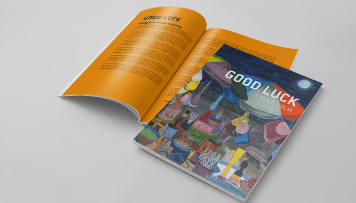 René Holm – kunstkatalog (Good Luck)